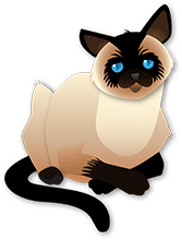 siamese illustration